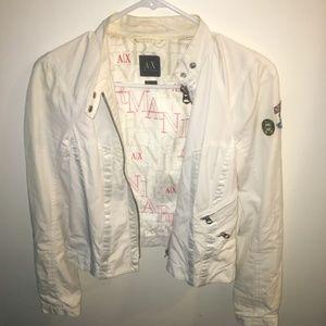 Armani Exchange Womens Bomber Jacket